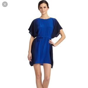 French Connection Down by the Sea Silk Ombré Dress